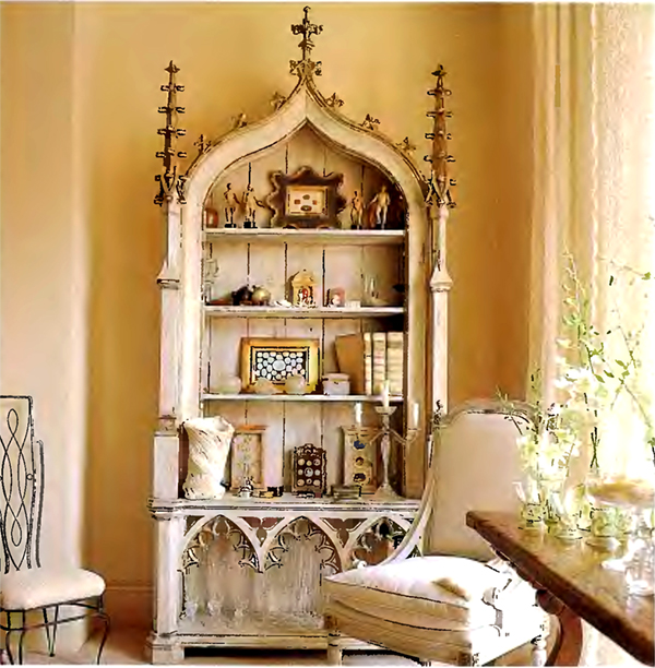 Interior design tips on a budget with estate sale finds for Antique home decorations
