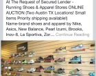 Online auction - SOLD Running company, two Austin locations, sold for secured lender