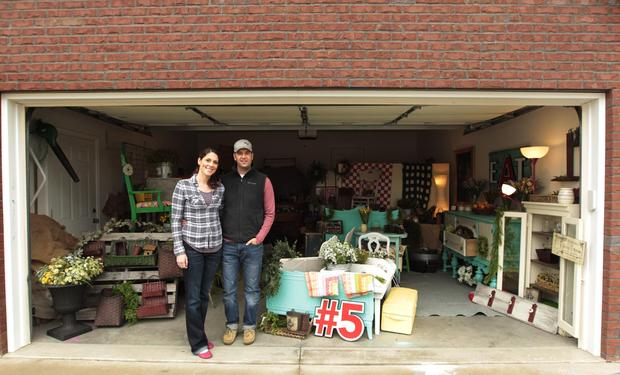 Steve and Andrea Repurposed furniture for a Haitian Mission